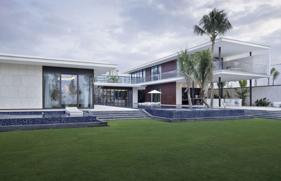4 Modern Chinese Villa with Luxury Features Designed by Gad