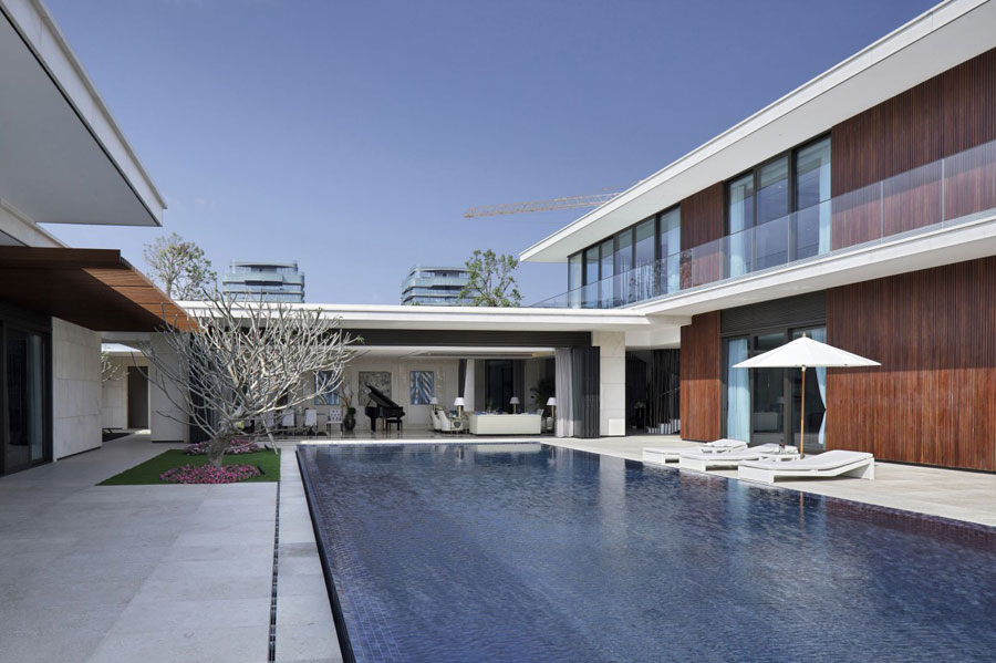 5 Modern Chinese Villa with Luxurious Features Designed by Gad