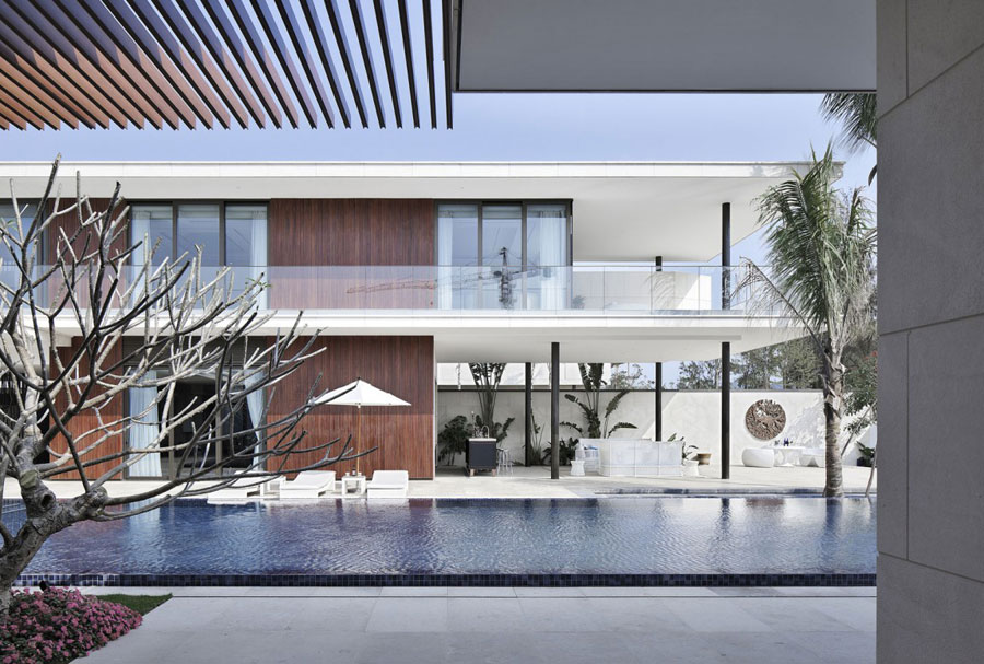 6 Modern Chinese Villa with Luxurious Features Designed by Gad