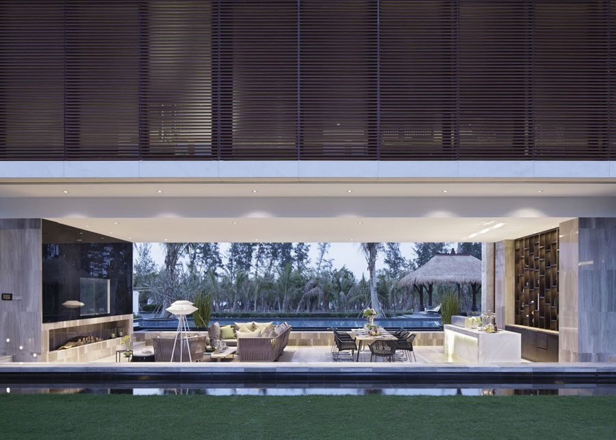 14 Modern Chinese Villa with Luxurious Features Designed by Gad
