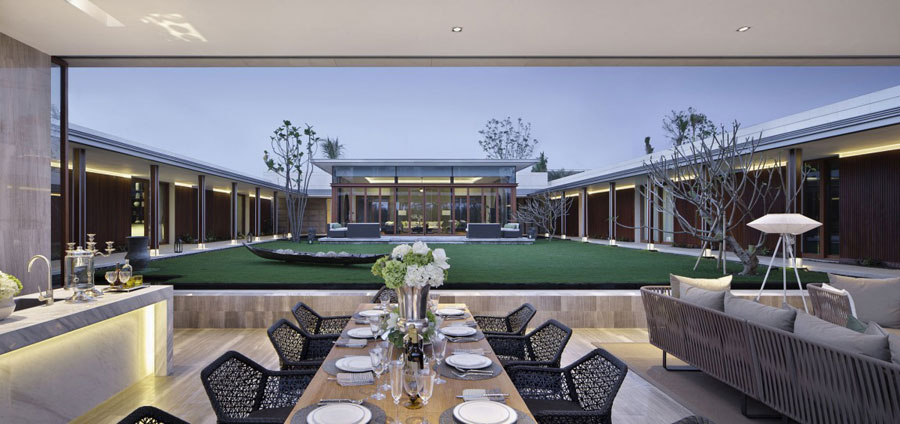 11 Modern Chinese Villa with Luxurious Features Designed by Gad