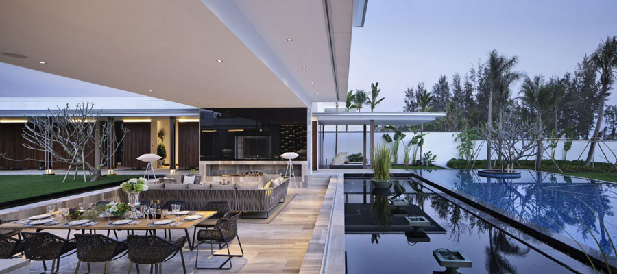 10 Modern Chinese Villa with Luxurious Features Designed by Gad