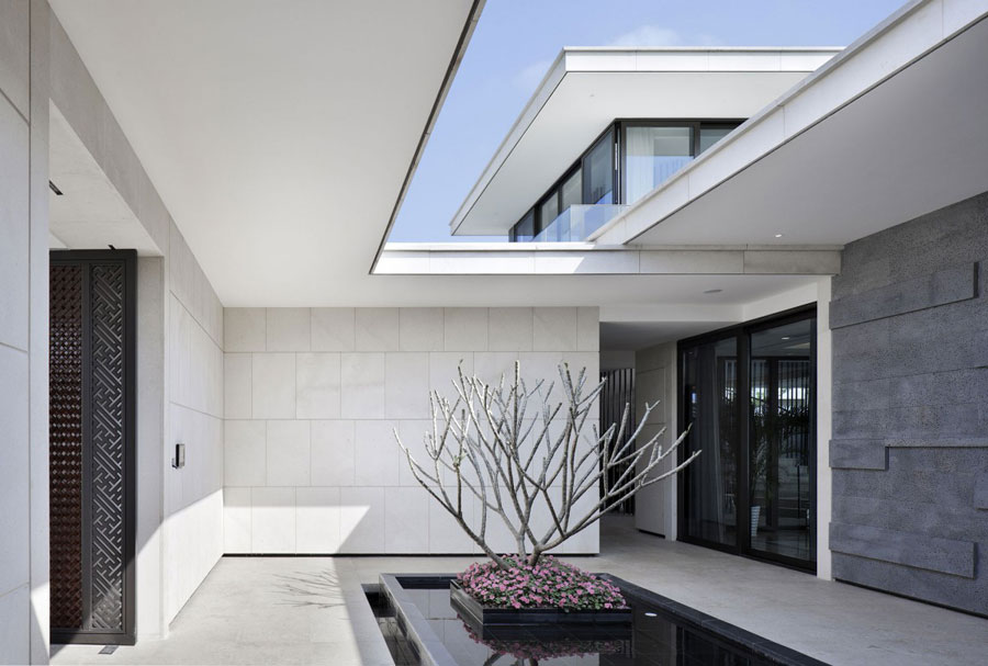 9 Modern Chinese Villa with Luxurious Features Designed by Gad
