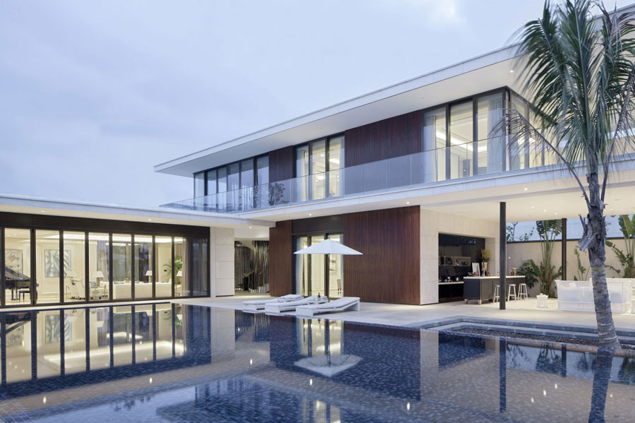 17 Modern Chinese Villa with Luxurious Features Designed by Gad