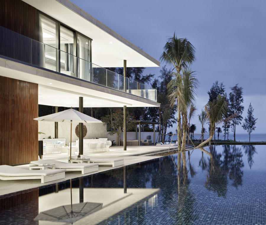 16 Modern Chinese Villa with Luxurious Features Designed by Gad