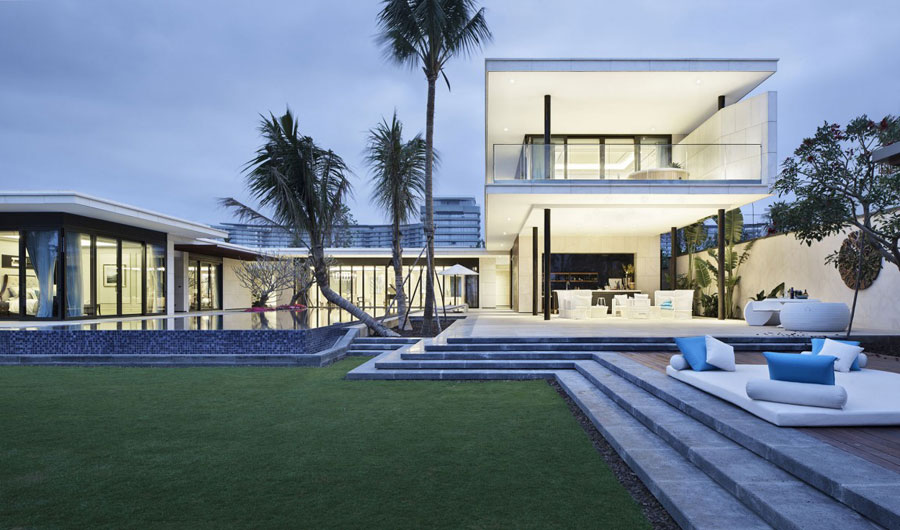 19 Modern Chinese Villa with Luxurious Features Designed by Gad