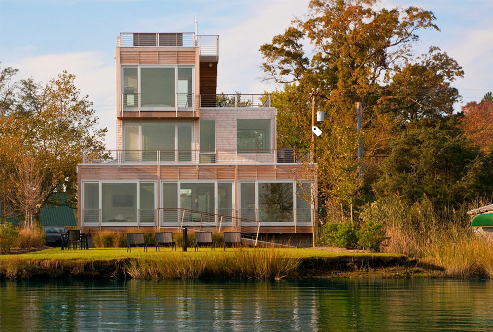Chesapeake-Bay-House-by-McInturff-Architects Modern Architecture: Modern buildings with cool architecture
