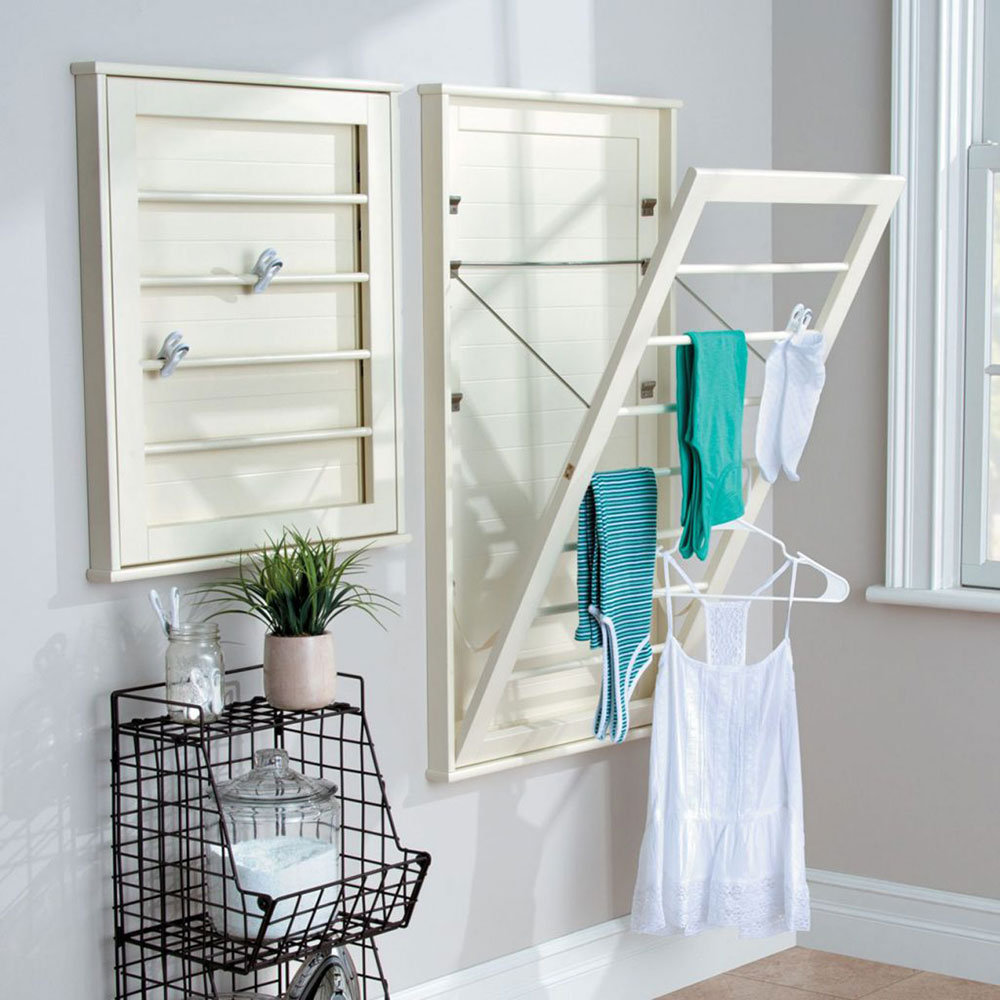 Space-saving wall drying rack-1298x1298-1024x1024 So save more space by choosing the best drying rack