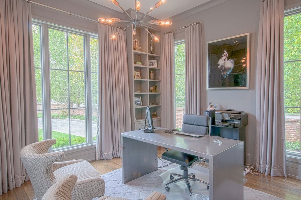 Cetingok-Residence-Murphy-Maude-Interiors Home office furniture: sets, ideas and nice examples