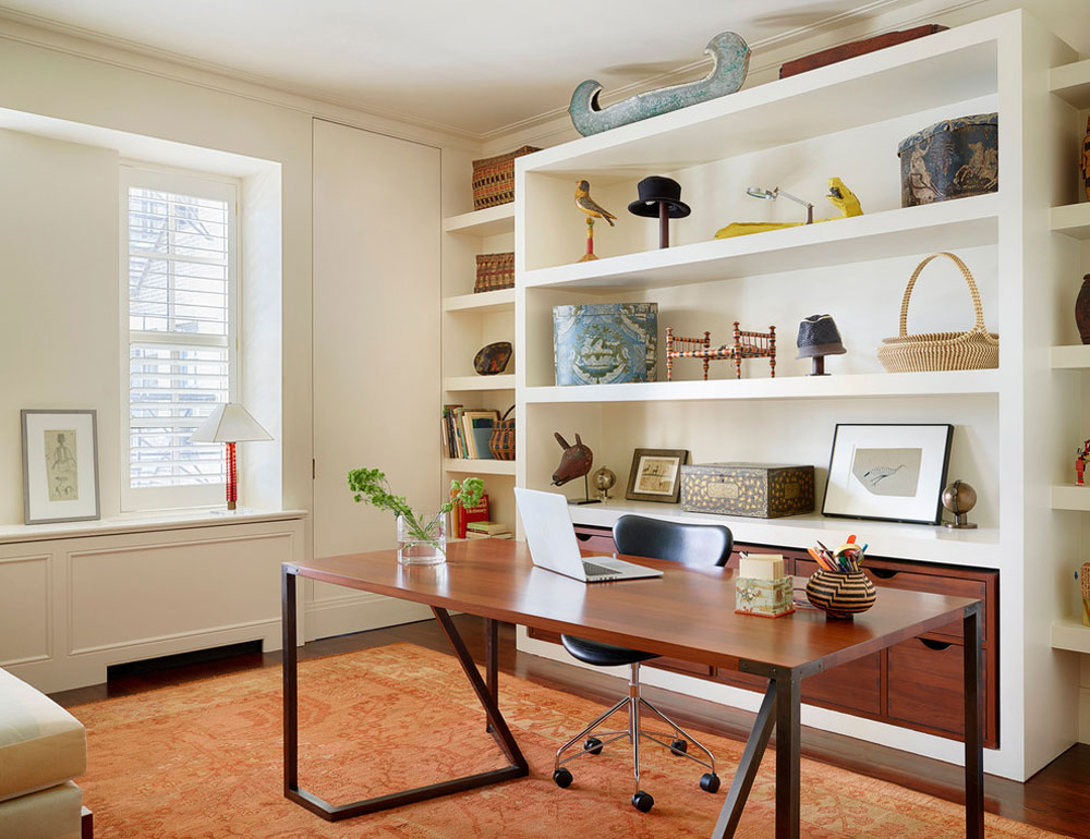 Lake-Shore-Drive-Co-Op-by-Alan-Design-Studio Home Office Furniture: Sets, Ideas and Nice Examples