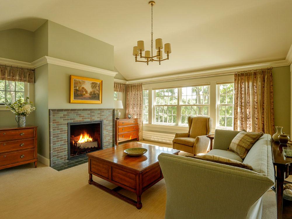 Farmhouse-Addition-by-HAYNES-GARTHWAITE-ARCHITEKTEN Ideas for green bedrooms: design, decoration and accessories