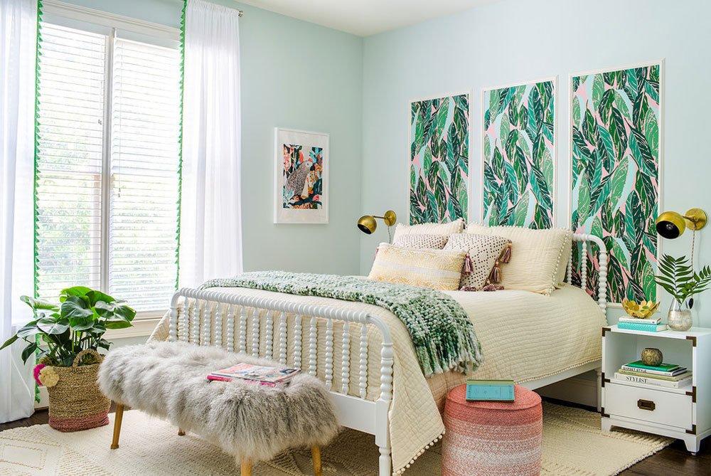 Ivy-Home-by-Terracotta-Studio Green Bedroom Ideas: Design, Decoration and Accessories