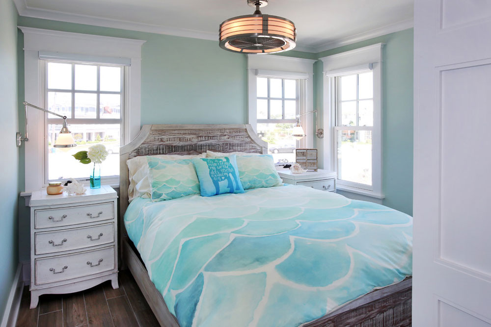 The-Cottages-by-Buck-Custom-Homes Ideas for green bedrooms: design, decoration and accessories