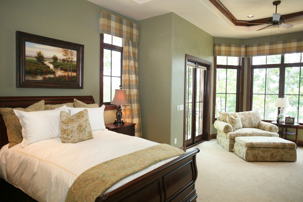 Master-Bedroom-by-Fowler-Interiors Green Bedroom Ideas: Design, Decoration, and Accessories