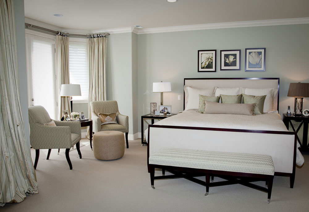 New-Castle-Master-Bedroom-by-Beverly-Bradshaw-Interiors- Green bedroom ideas: design, decoration and accessories