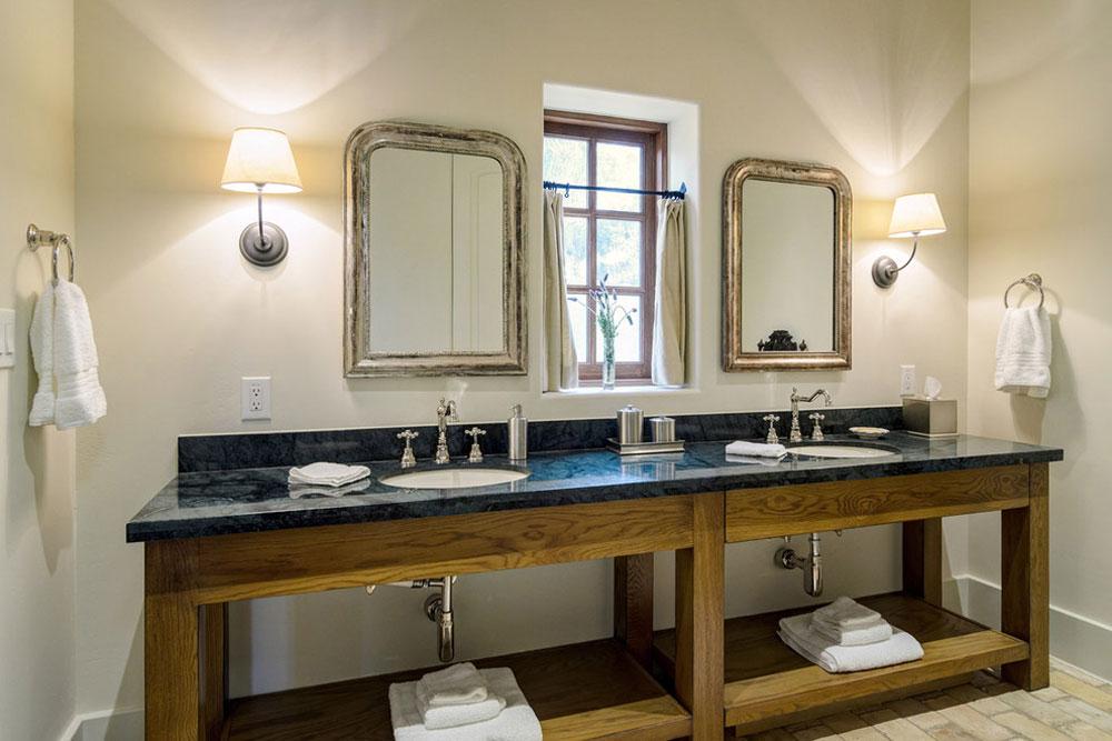 Award-winning Lake Travis-by-Design-Visions-of-Austin Rustic Bathroom Design: Ideas, Vanities, Decor, and Lighting