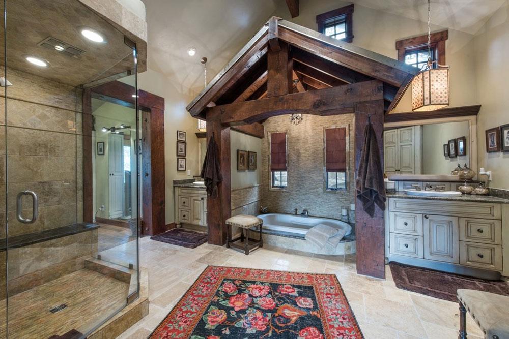 Bear-View-by-Alexander-Design-Build Rustic bathroom design: ideas, vanities, decor and lighting