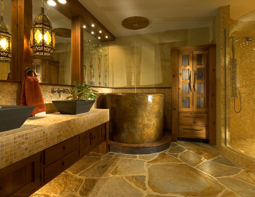 Custom-Bath-wth-Japanese-by-Jonathan-McGrath-Construction-LLC Rustic bathroom design: ideas, vanities, decor and lighting