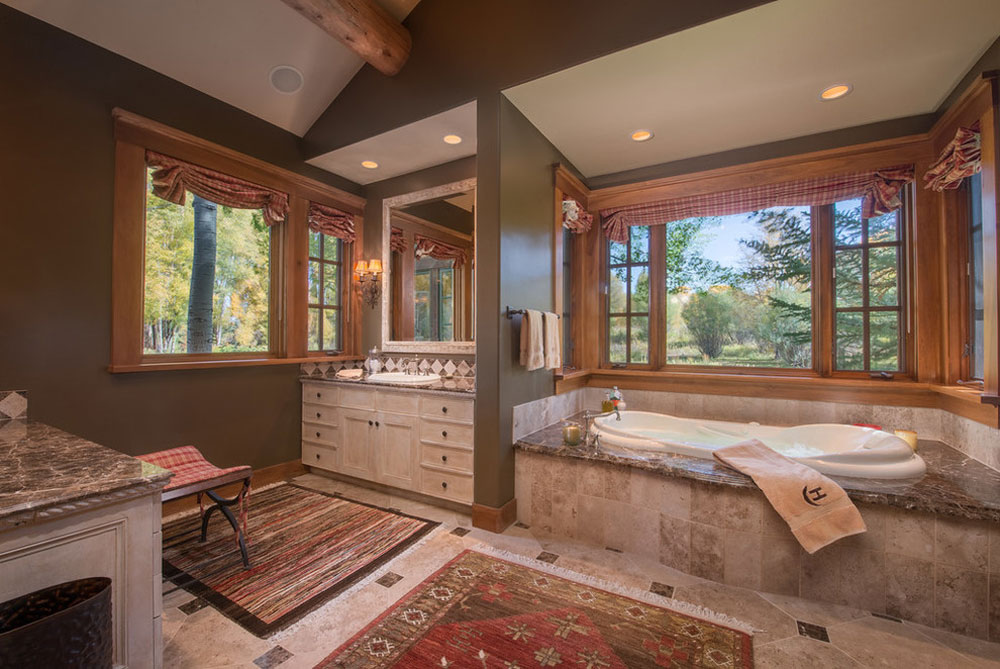 West Bank Trout Ponds by Sargent Rubble Photography Rustic bathroom design: ideas, vanities, decor and lighting