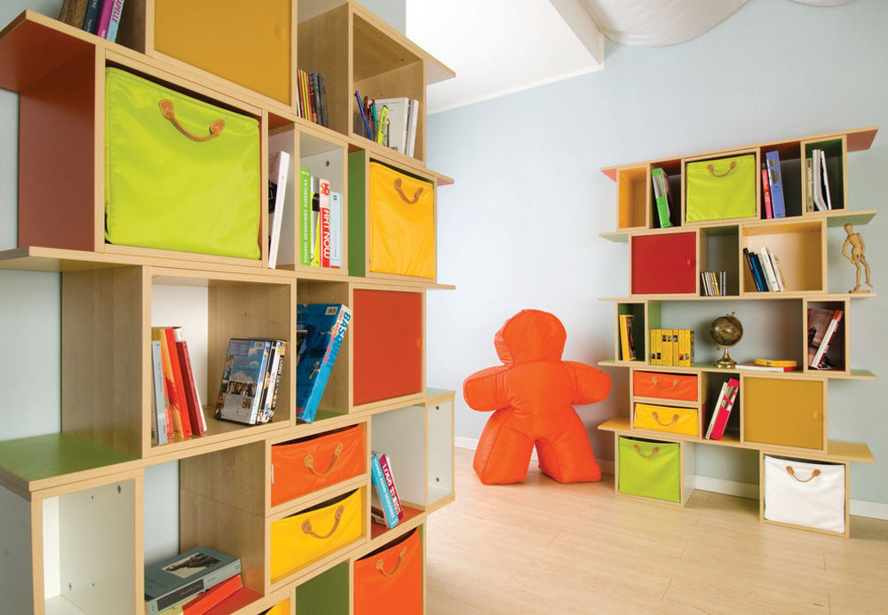 Lazzari-nursery-2-Lazzari-by-USA-a-brand-by-Foppapedretti toy storage ideas to keep the room tidy and organized