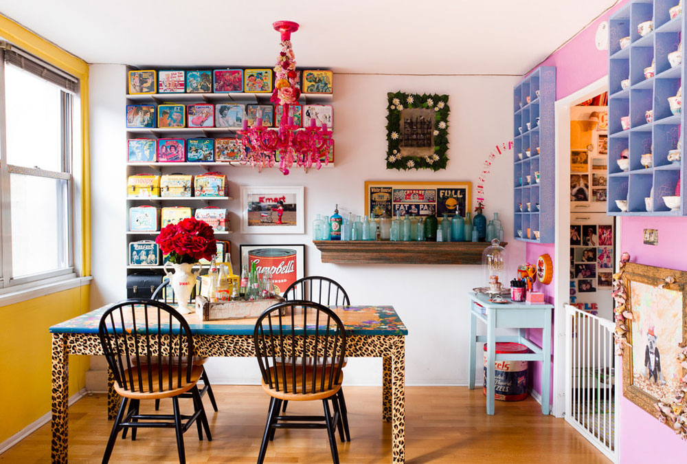 eclectic dining room by Rikki-Snyder storage ideas for toys to keep the room tidy and organized