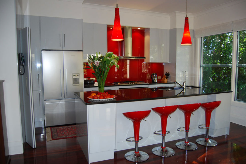 Wahroonga-Sydney-by-The-Renovation-Broker Red kitchen design: ideas, walls and decor