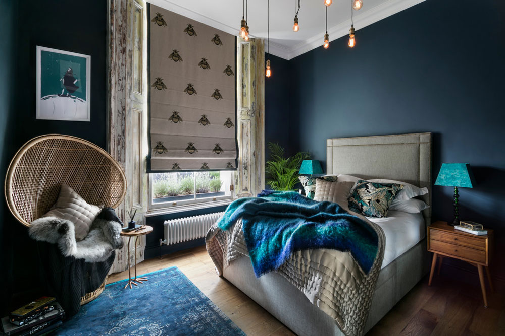 Little-Venice-Apartment-by-Nathalie-Priem-Photography Blue bedroom design ideas to try in your home