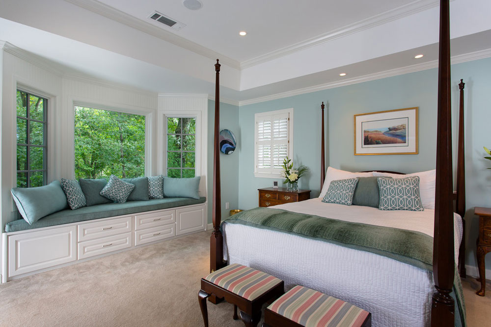Soothing-Master-Bedroom-by-Handcrafted-Homes-Inc Blue Bedroom Design Ideas To Try In Your Home