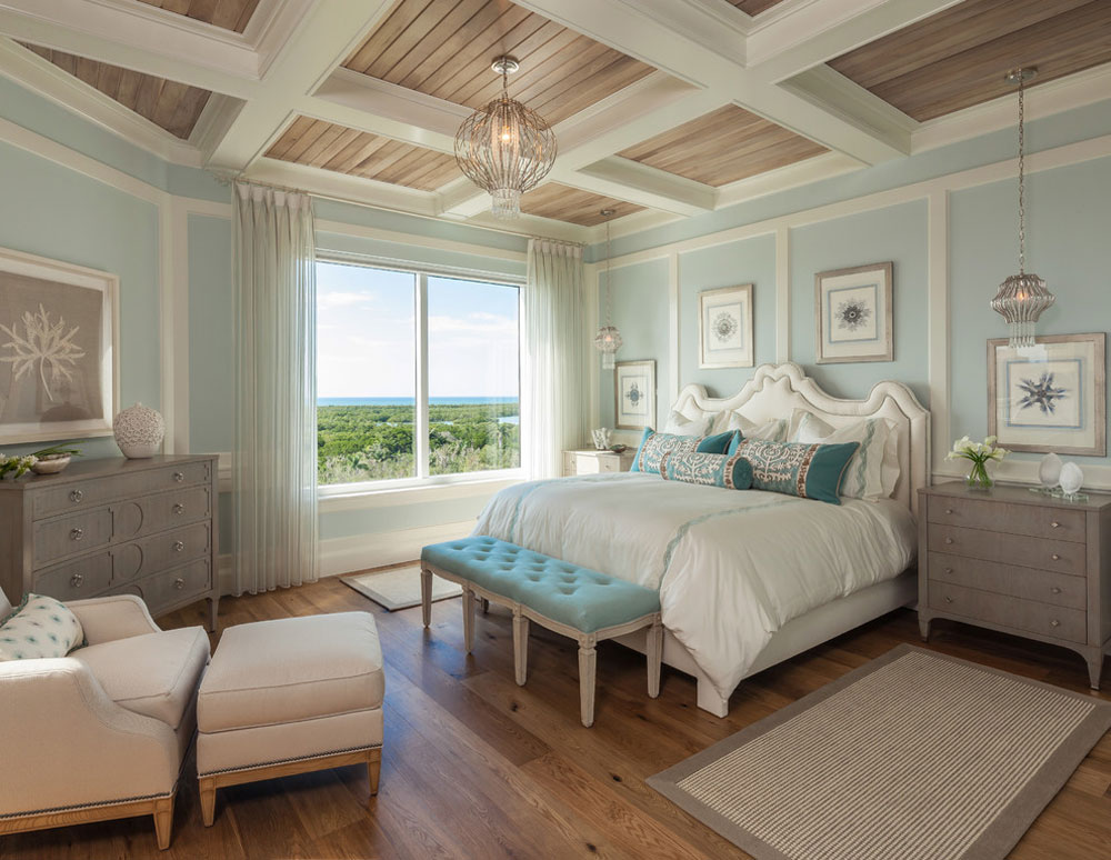 Bedroom-by-BCBE-Custom-Homes Blue bedroom design ideas to try in your home