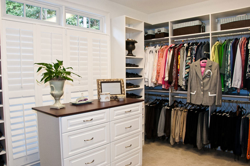 Custom-Closets-by-Louisiana-Custom-Closets Clothes Rack Ideas to Try (Hanging, Freestanding, Wood, Metal)