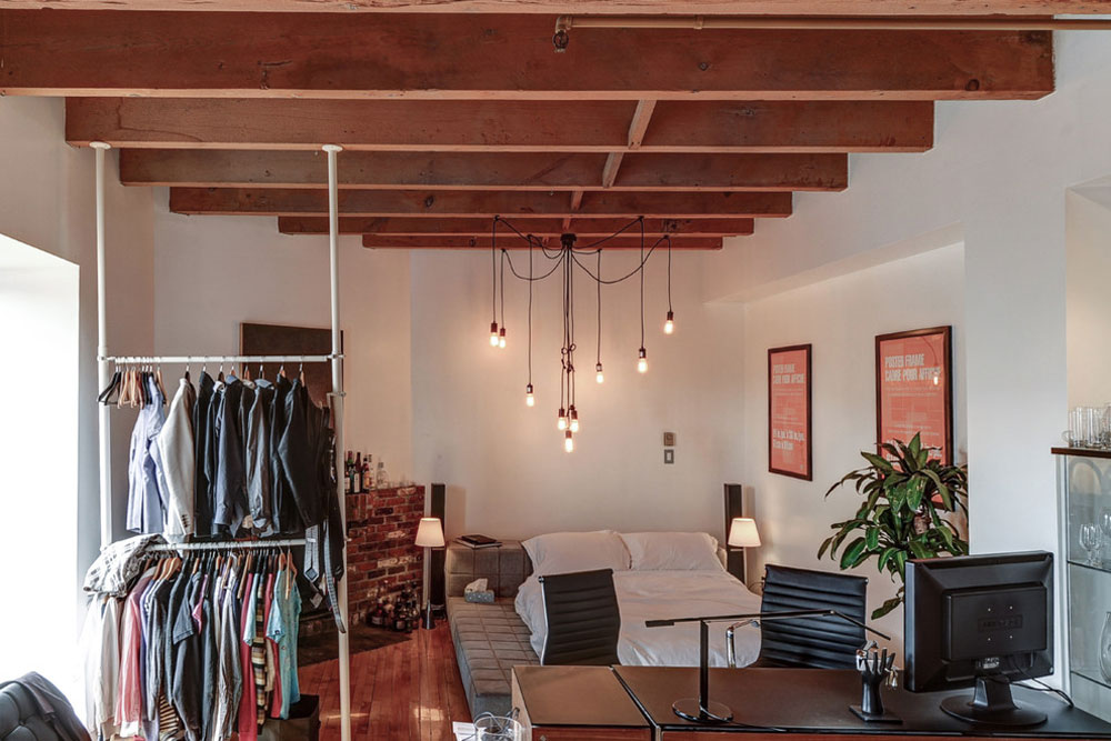 215-Boul-Saint-Laurent-32-von-Big-Panda-Design drying rack ideas to try out (hanging, free-standing, wood, metal)