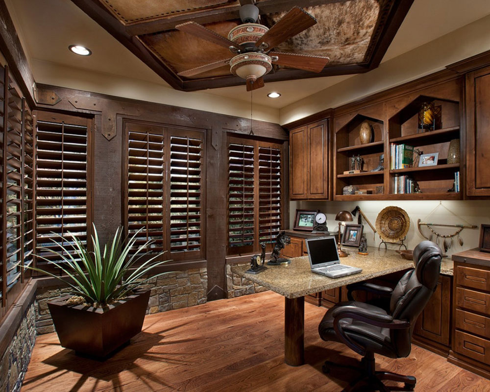 Brown Home Office Home Painting Ideas for Fall