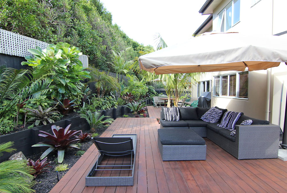 Zen-and-Sub-Tropical-Landscape-by-Zones-Landscaping-Specialists Umbrella Plant: How to Decorate With It