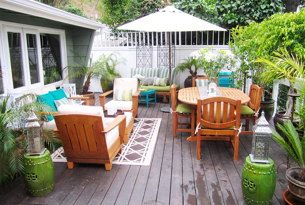 IN-THE-HOLLYWOOD-HILLS-by-COCOCOZY umbrella plant: How to decorate with it