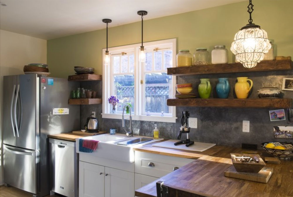 Pershing-Ave-by-Stony-Creek-Construction-Wood-Countertops: Solid, Rustic, Natural Kitchen Counters