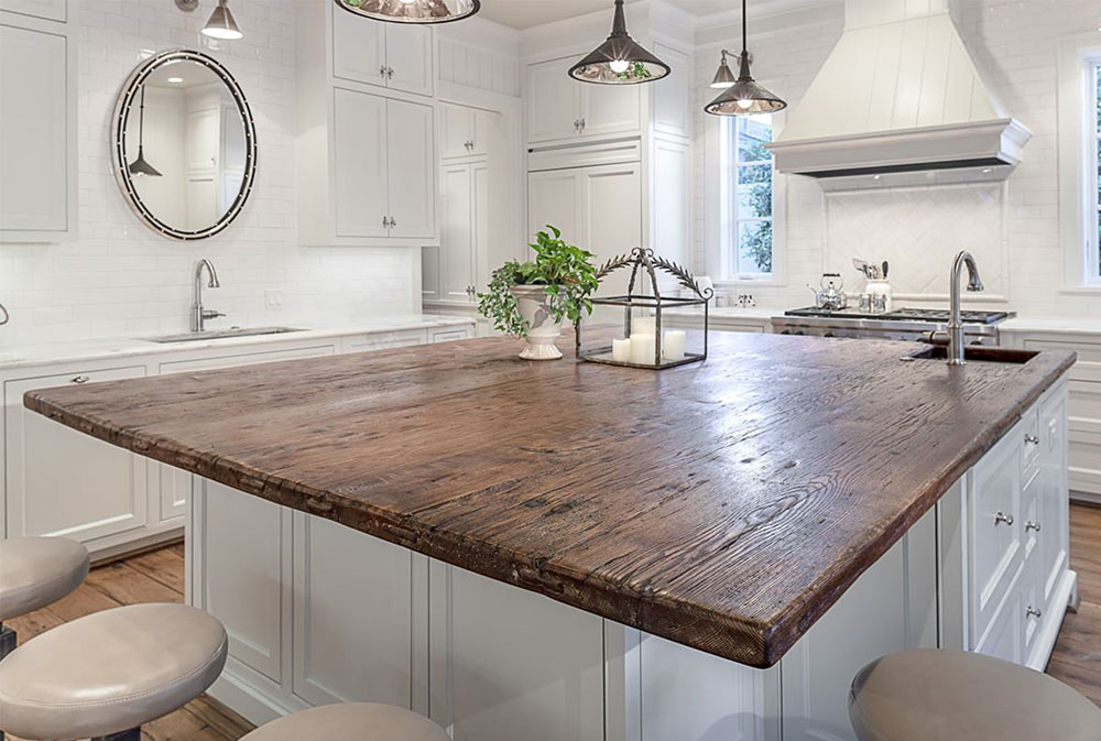 Project-One-by-Carl-Mayfield-Architect-Photographer-Wood Countertops: Solid, Rustic, Natural Kitchen Counters