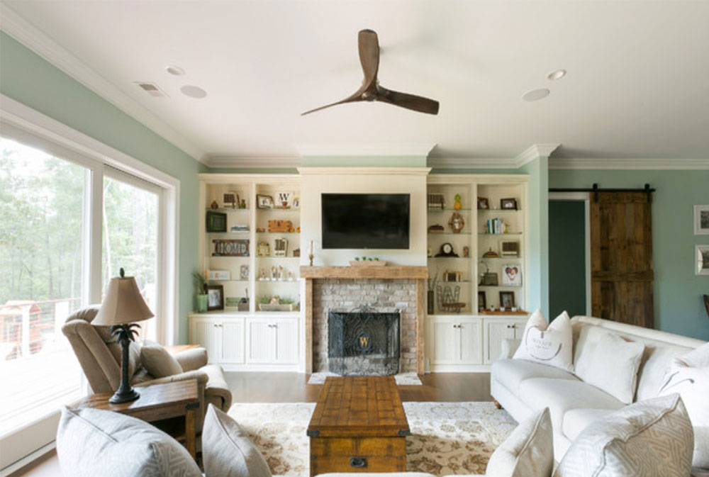 Johns-Island-Residence-of-Priests-Custom-Contracting-LLC Green Living Room Ideas: Walls, Chairs, Paint