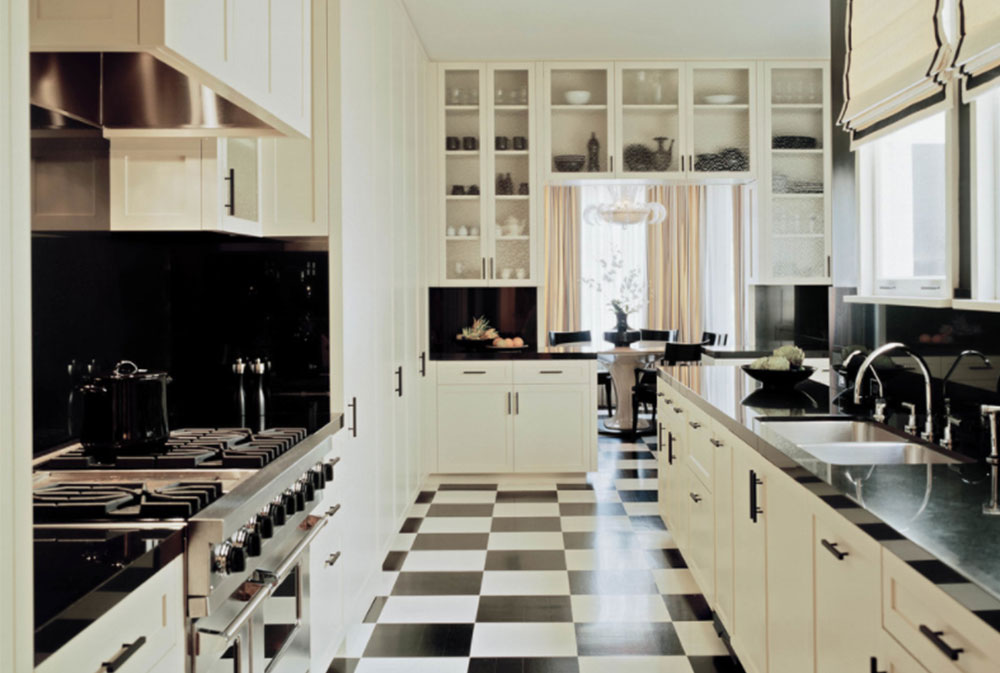 Pacific-Heights-Victorian-by-Peninsula-Custom-Homes Black and White Kitchen Design-Ideas