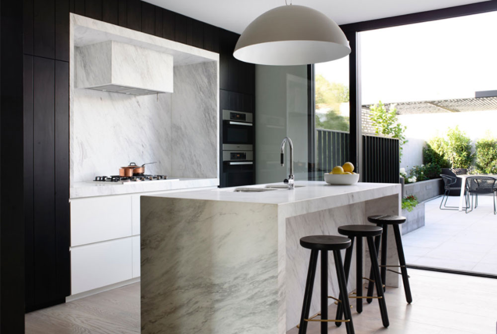 Chambers-St-by-Mim-Design Design ideas for black and white kitchens