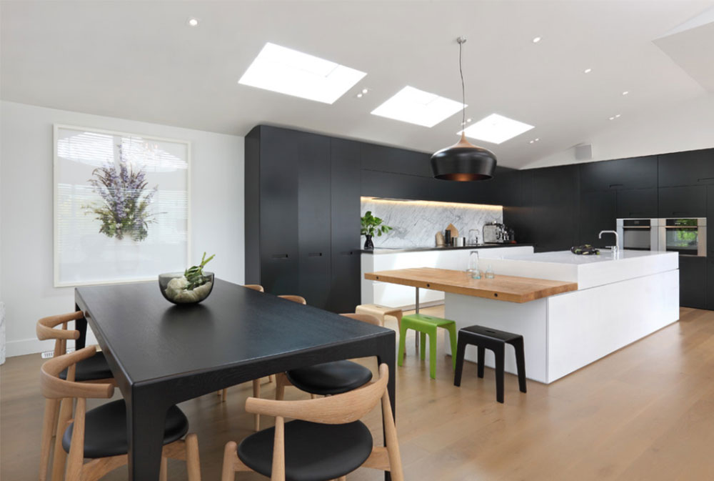 Masons-ave-kitchen-by-jessop-architects black and white kitchen design ideas