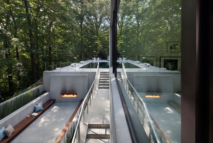 79454443817 Magnificent new Canaan residence of Woodpecker Harpman