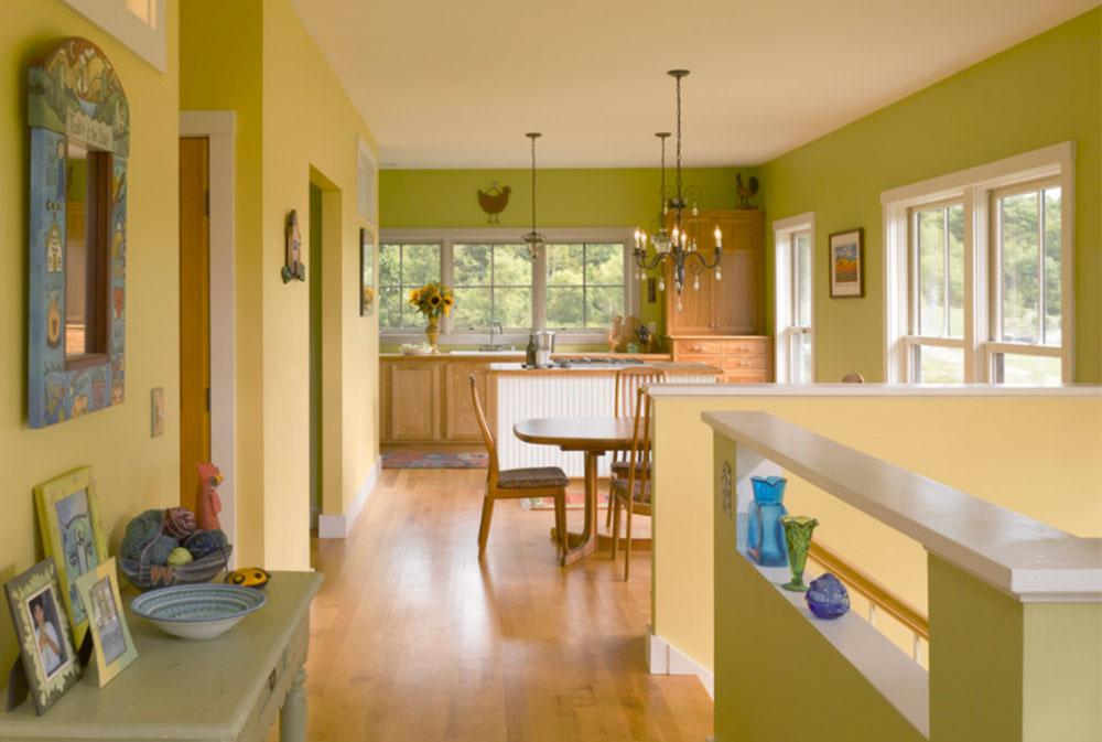 Environmentally friendly by TruexCullins Architecture Interior Design Kitchen Wall Decor Ideas