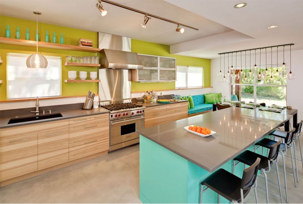 Dandelion House By Loop Design Kitchen Wall Décor Ideas