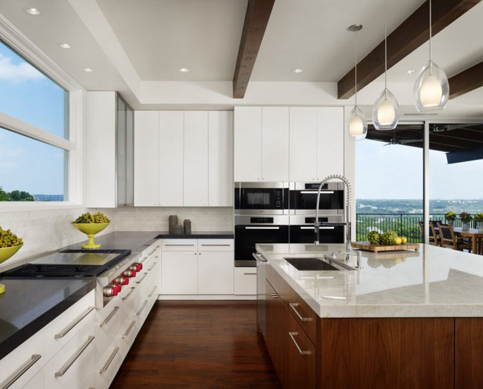 74716377087 House on the hill with stunning interiors By James D LaRue Architecture Design