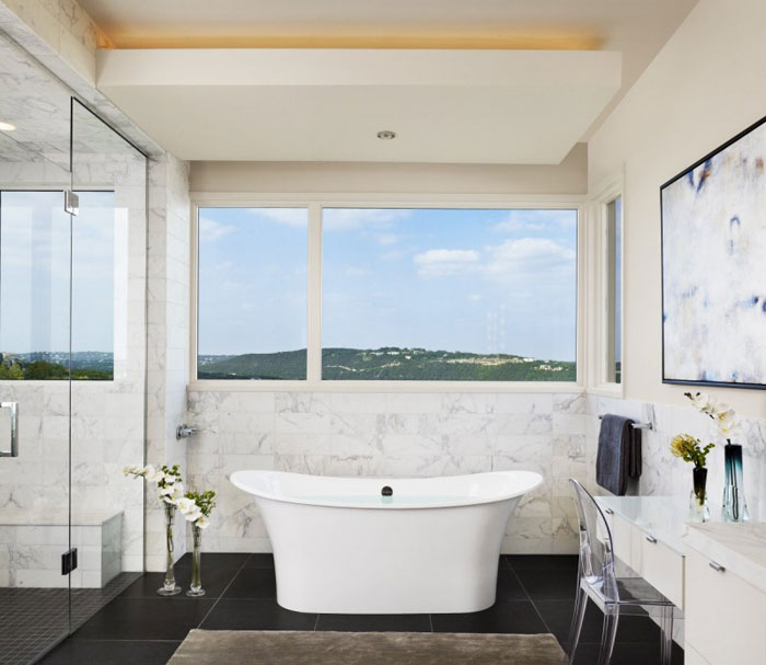 74716383148 Hill House with Stunning Interior By James D LaRue Architecture Design