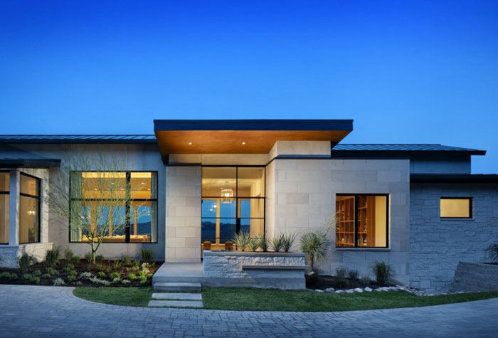 74716340594 House on the hill with stunning interiors By James D LaRue Architecture Design