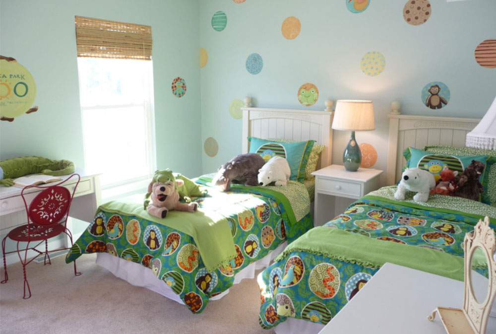 Image-15-19 How to decorate your children's room on a budget