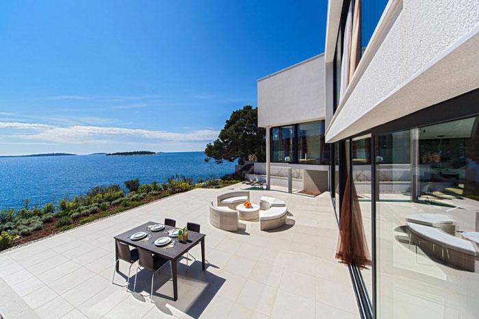 73736401988 The exquisite Golden Rays Villa in Croatia on the Adriatic