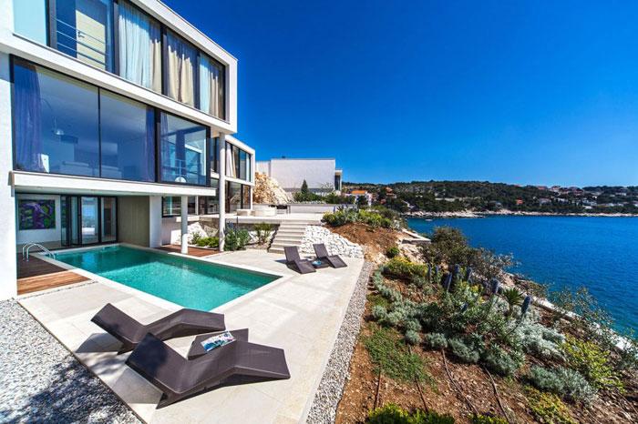 73736385270 The exquisite Golden Rays Villa in Croatia on the Adriatic Sea