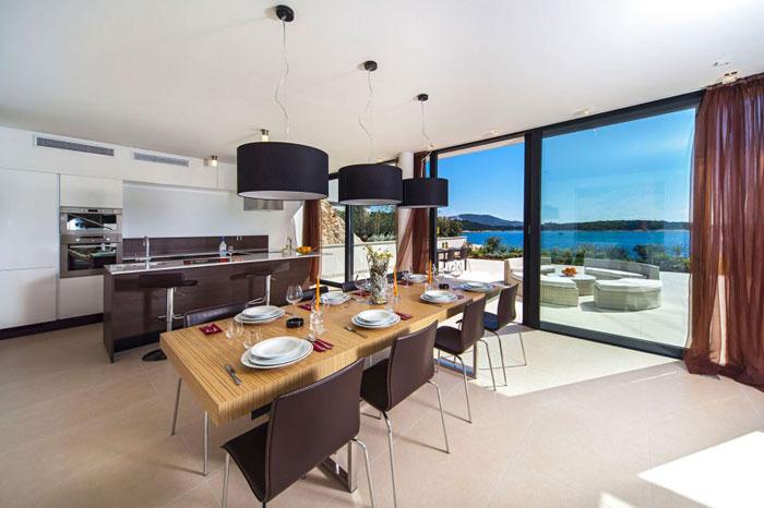 73736452438 The exquisite Golden Rays Villa in Croatia on the Adriatic Sea